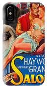 Pekingese Art - Salome Movie Poster IPhone Case