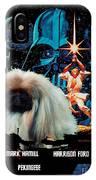 Pekingese Art - Star Wars Movie Poster IPhone Case