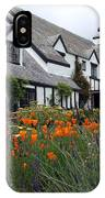 Pelican Inn Garden IPhone Case