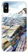 Pemaquid Rocks IPhone Case