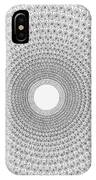 Pen And Ink Mandala 2 IPhone Case