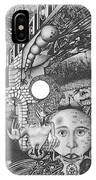 Pen And Ink World 1 IPhone Case