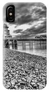 Penarth Pier 2 Mono IPhone Case