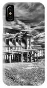 Penarth Pier 6 Monochrome IPhone Case