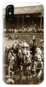 Pendleton Round-up Oregon Lewis Josselyn Photo Sept. 1929 IPhone Case