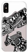 Penguin In The North Pole 6 IPhone Case