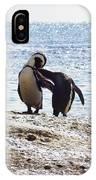 Penguins Kissing At Boulders Beach Cape Town IPhone Case