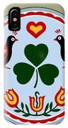 Pennsylvania Dutch Hex 16 IPhone Case