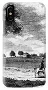 Pennsylvania Farm, 1795 IPhone Case