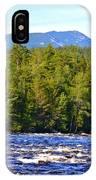 Penobscot River And Mt Katahdin IPhone Case