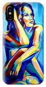 Pensive Figure IPhone Case