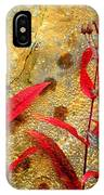 Penstemon Abstract 4 IPhone Case