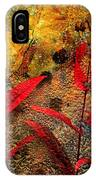 Penstemon Abstract 5 IPhone Case