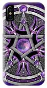 Pentacle Of The Purple Moon IPhone X Case