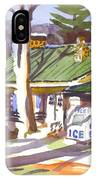 Penuel Lodge In Winter  IPhone Case
