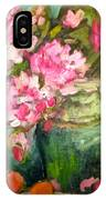 Peonies And Peaches IPhone Case