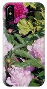 Peonies In Pinks IPhone Case