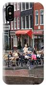 People By The Canal IPhone Case
