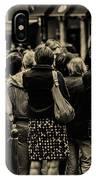 People IPhone Case