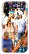 People In New York IPhone Case