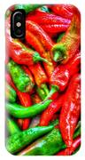 Peppers IPhone Case