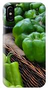 Peppers From The Farm Nj IPhone Case