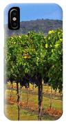 Perissos Hill Country Vineyard IPhone Case