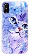 Persian Blue IPhone Case