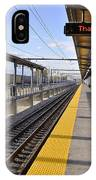 Perspective From The Series The Elements And Principles Of Art-- One Point Rail IPhone Case