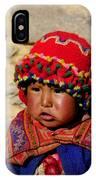 Peru Baby IPhone Case