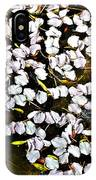 Petals In The Pond IPhone Case