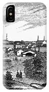 Petersburg, Virginia, 1856 IPhone Case
