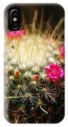 Petite Cactus IPhone Case