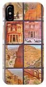 Petra Alive In Petra Jordan IPhone Case