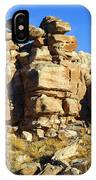 Petrified Forest Rock Formations IPhone Case