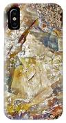 Petrified Wood In Crystal Forest In  Petrified Forest National Park-arizona IPhone Case