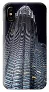 Petronas Towers IPhone Case