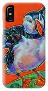 Petty Harbour Puffin IPhone Case