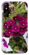 Petunias And Verbena I IPhone Case