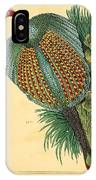 Pheasant 1837 IPhone Case