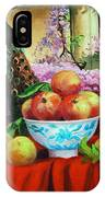 Pheasant And Fruit IPhone Case