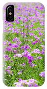 Phield Of Phlox IPhone Case