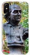 Philadelphia Benjamin Franklin Penny Bust IPhone Case