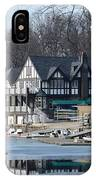 Philadelphia - Boat House Row IPhone Case
