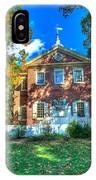 Philadelphia Carpenter's Hall Back View 2 IPhone Case