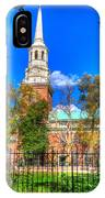 Philadelphia Christ Church 2 IPhone Case