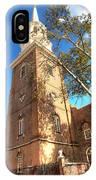 Philadelphia Christ Church Tower 1 IPhone Case