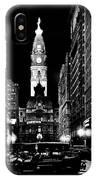 Philadelphia City Hall 1916 IPhone Case