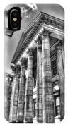 Philadelphia First Bank 2 Bw IPhone Case