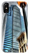 Philadelphia Liberty Place Tower And Street Lamp 1 IPhone Case
